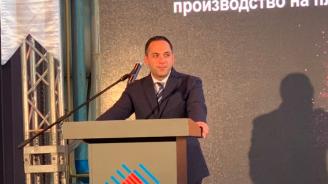 Караниколов откри инвестиция за над 40 млн. евро в завод за производство на стъкло в Търговище