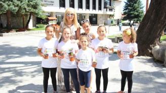Цветя раздаде община Банско