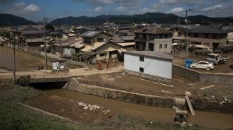 Един милион души бяха евакуирани заради проливни дъждове в Южна Япония