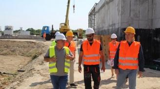Усилено се работи по всички съоръжения за пречиствателната станция на Ямбол