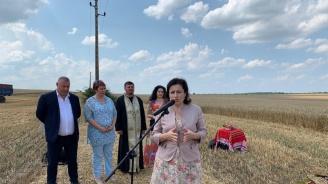 Десислава Танева: Към момента са ожънати 22% от засетите площи с пшеница в страната