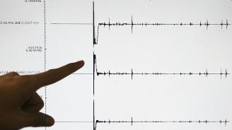 Земен трус от 5,2 беше регистриран край бреговете на Камчатка