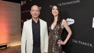 Джеф Безос финализира развода си, бившата му ще получи 38 млрд. долара