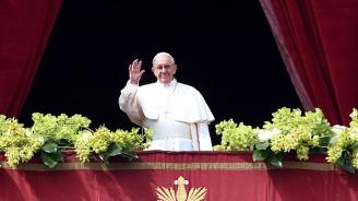 Папа Франциск призова да се изградят хуманитарни коридори за най-силно нуждаещите се мигранти
