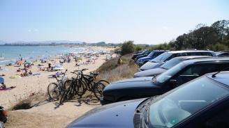 Министерство на туризма налага глоба на концесионера на плаж Перла, допуснал автомобил до водата