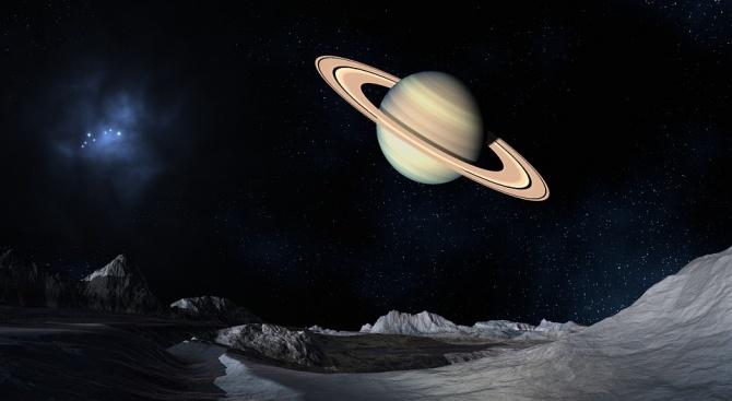 Днес може да видим Сатурн с бинокъл
