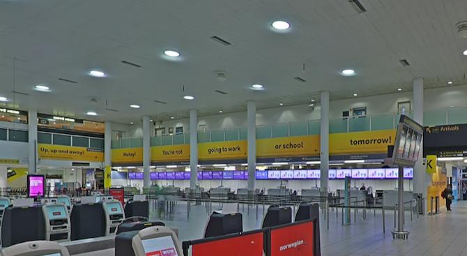 Лондонското летище Гетуик преустанови временно полетите заради проблем със системата