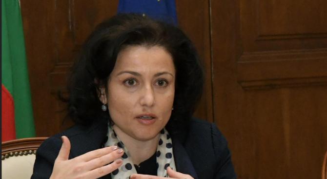 Министърът на земеделието, храните и горите Десислава Танева и ръководството