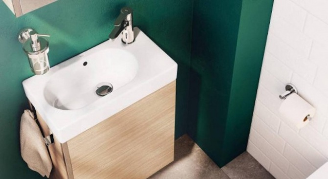 Как да превърнем малката баня в истински оазис? Вижте няколко трика