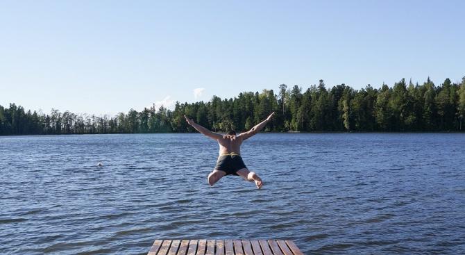 Отровно езеро в Сибир стана любимо място за селфи