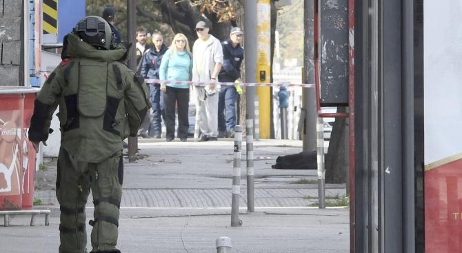 Отцепиха паркинга на Община Варна заради изоставен куфар