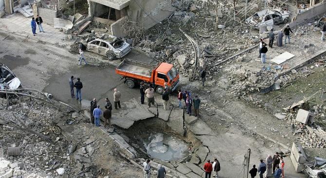 Най-малко 11 цивилни бяха ранени при експлозия на кола бомба
