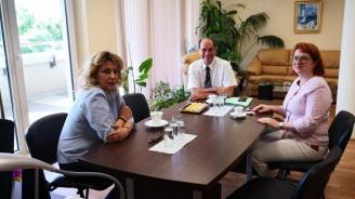 Френски административен съдия на посещение във Варна