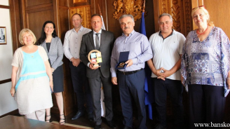 Споразумение за сътрудничество бе подписано между община Банско и община Волви, Гърция