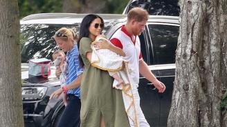 Херцогините Катрин и Меган разходиха заедно децата