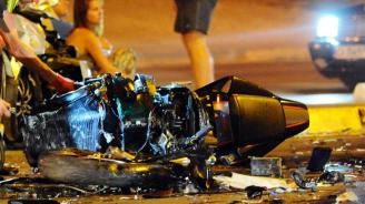16-годишен мотоциклетист е с опасност за живота след катастрофа