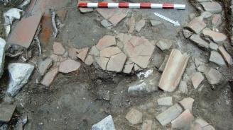 Откриха останки от римско жилище при изкопни дейности в Пловдив