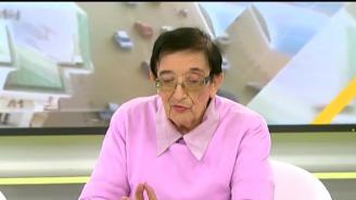 Мика Зайкова: Държавата трябва енергийно да подпомага 65 на сто от българите, защото са бедни