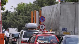 """Интензивен трафик за леки коли на ГКПП """"Калотина"""""""