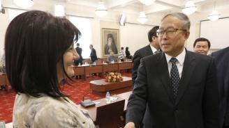 Цвета Караянчева: Между България и Китай има поле за сътрудничество в редица области, сред които образование, инфраструктура, стратегически проекти