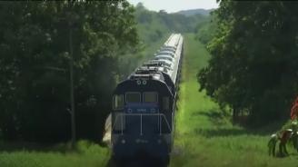 В Куба на път потеглипървият нов влак от40 години