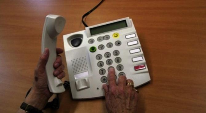 Служители на полицейското управление в Свищов разследват телефонна измама по