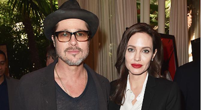 Брад Пит отбеляза победа в спора с Анджелина Джоли за децата
