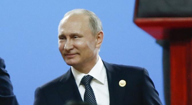 Бюрек от няколко килограма е получил руският президент Владимир Путин