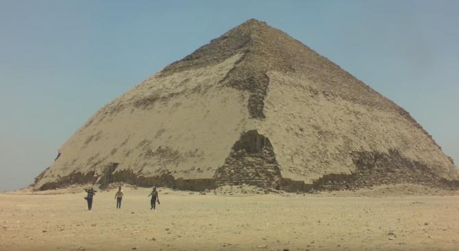 Малко известна египетска пирамида отвори врати за посетители. Така наречената