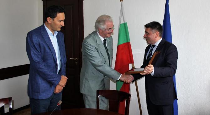 Министърът на правосъдието Данаил Кирилов се срещна днес с д-р