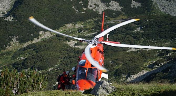 Планинската спасителна служба е провела акция по транспортирането на мъж
