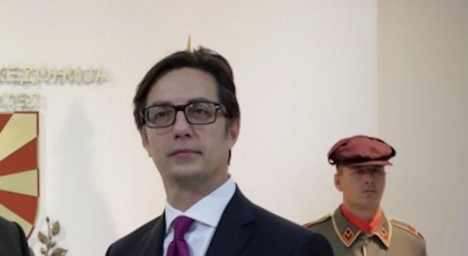 Президентът на Северна Македония Стево Пендаровски заяви, че е недоволен