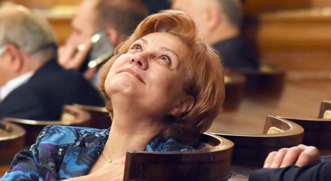 Председателят на бюджетната комисия Менда Стоянова от ГЕРБ определи като