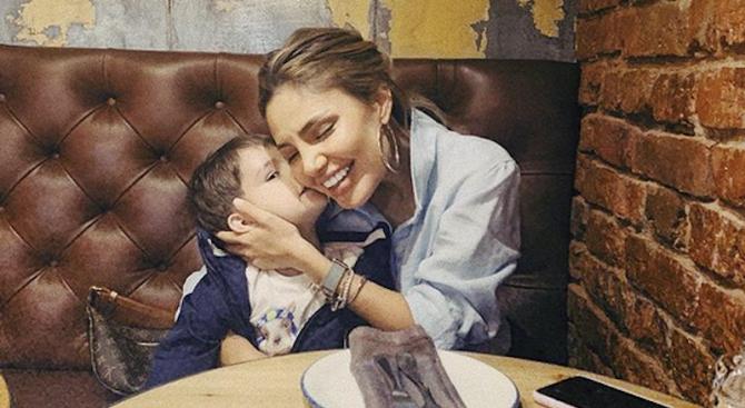 Синът на Благой Георгиев стана на три години в присъствието