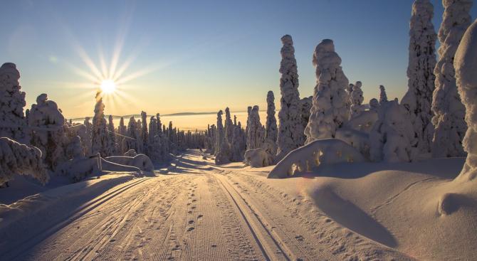 Абсолютен температурен рекорд е бил измерен в най-северното обитавано място