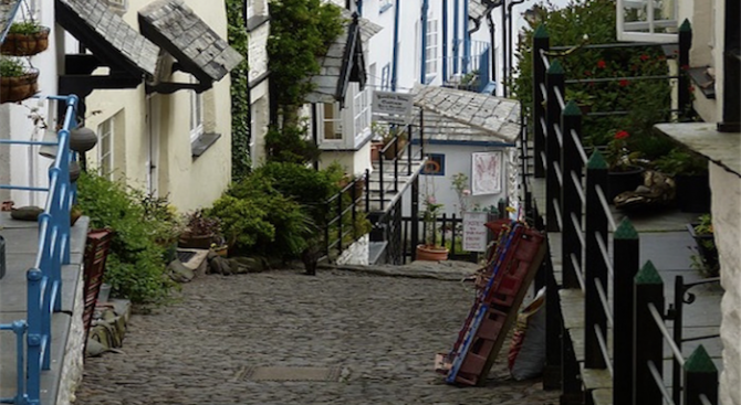 Улица в Уелс е най-стръмната в света
