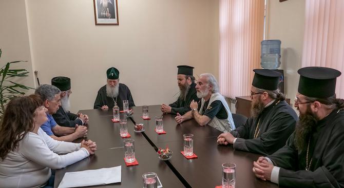 Междуправославна среща по въпросите за ересите и сектите се състоя в Софийската митрополия