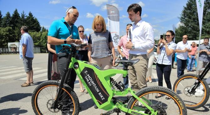 Електрически велосипеди тръгват от днес във Витоша
