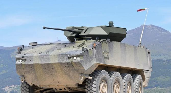 Избират изпълнител по инвестиционния проект за бойна машина на Сухопътните войски най-късно до 20 декември 2019 г.
