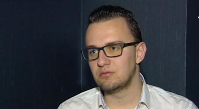 Хакерът Кристиян Б. с музикален поздрав и първи думи след ареста