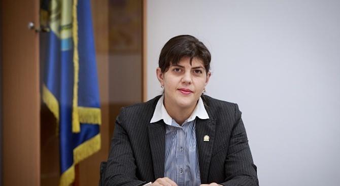 Румънката магистратка, иконата на борбата с корупцията Лаура Кодруца Кьовеши,