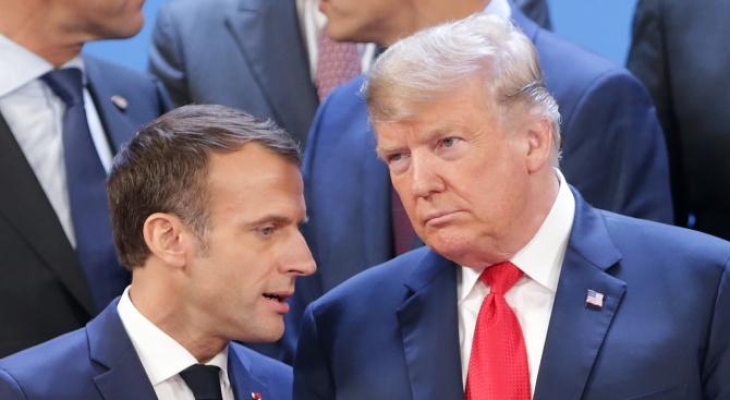 Тръмп и Макрон обсъдиха Иран