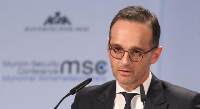 Германският външен министър Хайко Маас предупреди Иран, че задържането на