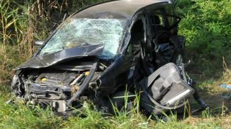 Мъж и 4-годишно момче загинаха в тежка катастрофа край Плевен