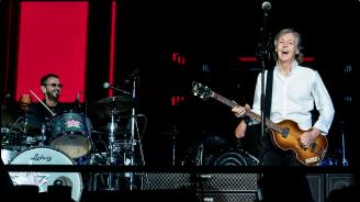 Ринго Стар се включи в концерт на Пол Маккартни в Лос Анджелис