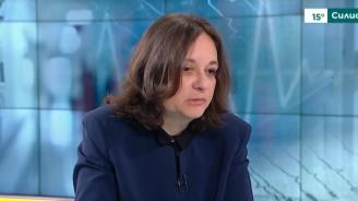 Жени Начева: Новият здравен модел няма да облагодетелства едни за сметка на други