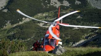 """Акция в планината: Мъж с масивен кръвоизлив бе транспортиран от хижа """"Рай"""""""