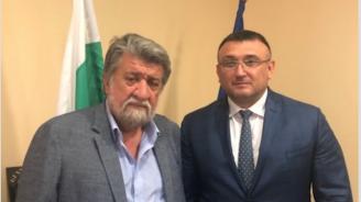 Вежди Рашидов се срещна с министъра на вътрешните работи Младен Маринов