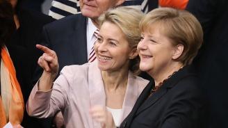 Меркел приветства избирането на Фон дер Лайен за председател на ЕК