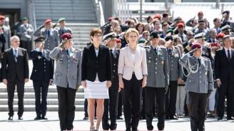 Ето кой зае мястото на Урсула фон дер Лайен като министър на отбраната на Германия